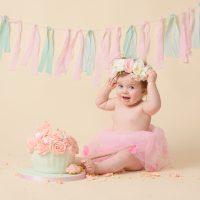 Sheena Griffin Photography Cake Smash